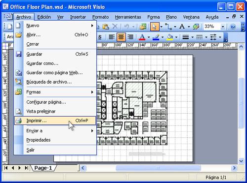 """Programa de Cómputo - Grupo """"A"""" : Microsoft Visio"""