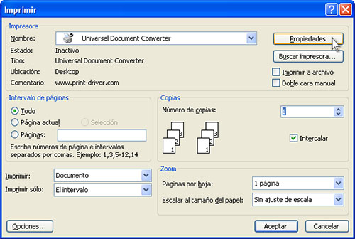 pasar un documento pdf a word