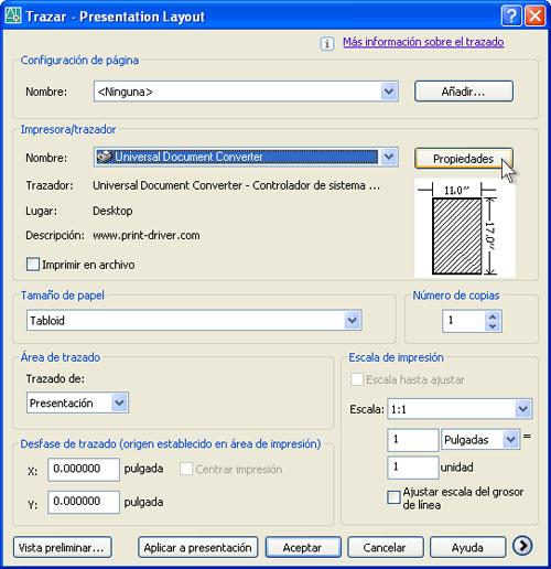 Convertir Un Diseño De Autocad Dwg A Pdf Universal Document Converter